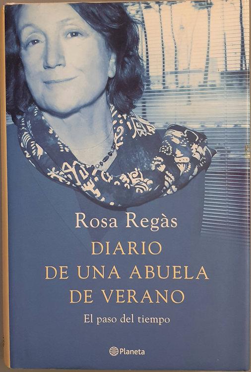 Diario de una abuela de verano   Regàs, Rosa