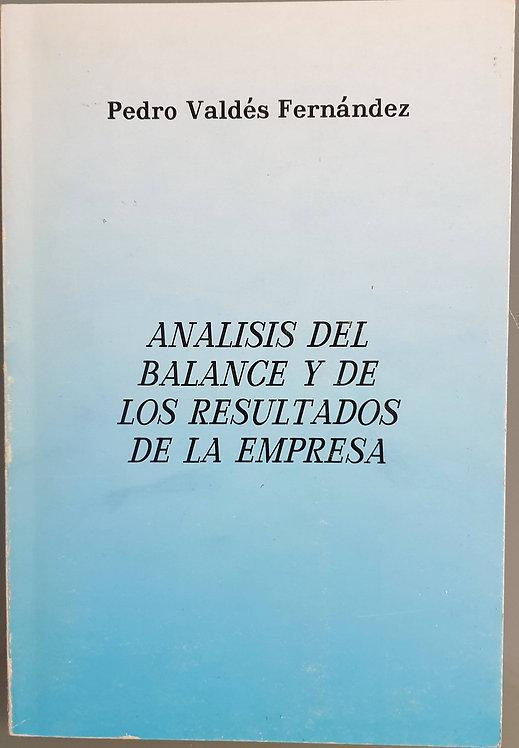 Análisis del balance y de los resultados de la empresa | Valdés Fernández, P.
