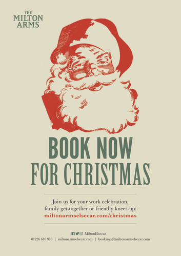 Book now for Christmas 2020