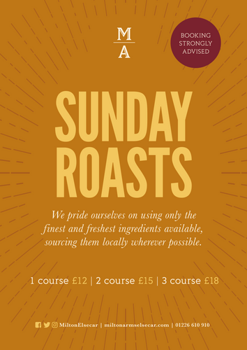 Sunday Roasts at The Milton Arms