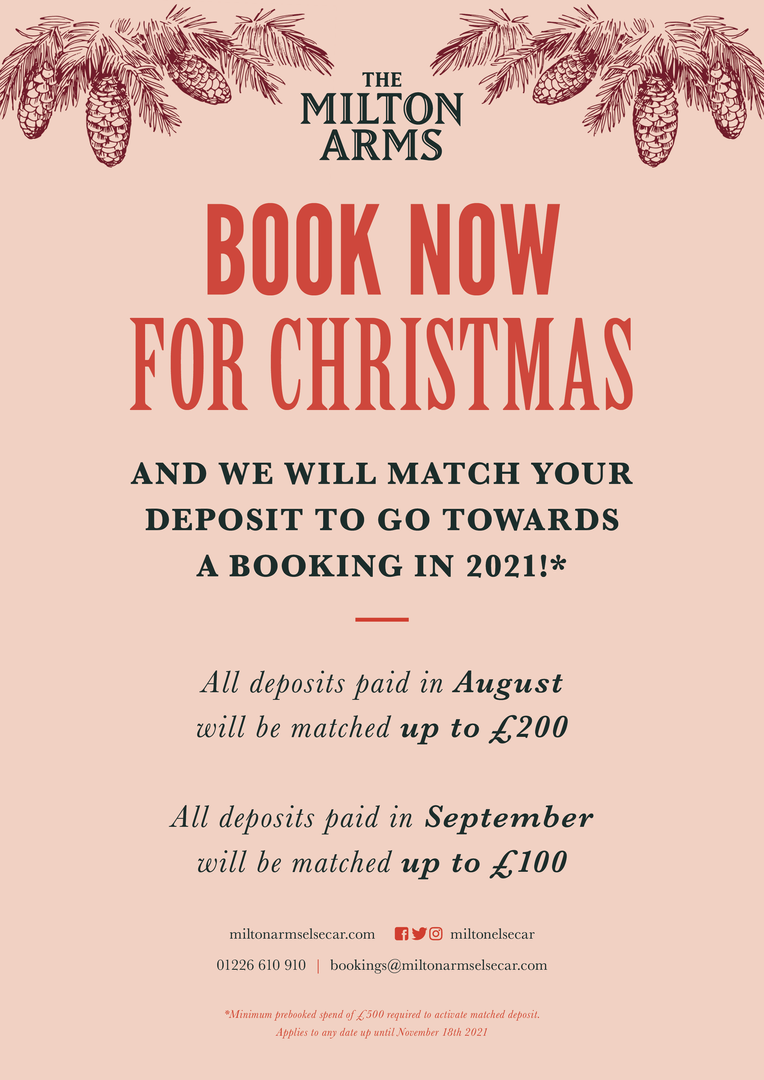 Book now for Christmas...