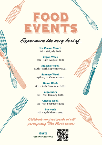 Food Events 2021 - 2022