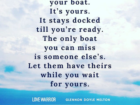 It's Your Boat ⛵️