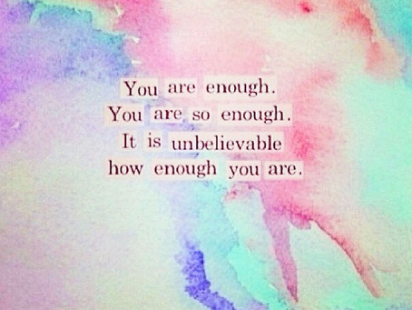 You are so enough 🙏🏻❤️