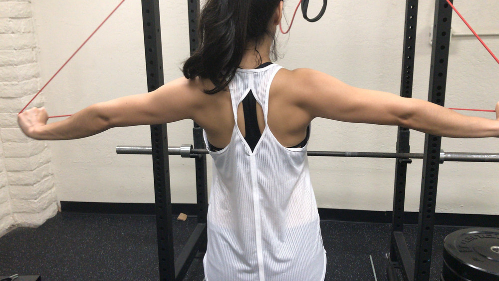 Annette back muscles