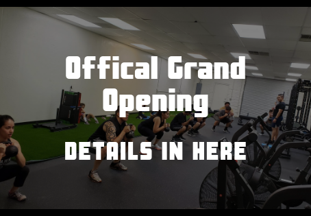 The Official Grand Opening!