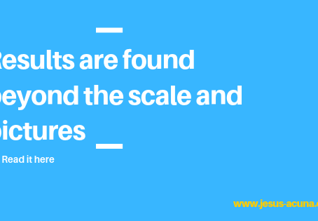 Results are found beyond the scale and pictures