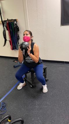 Goblet squat