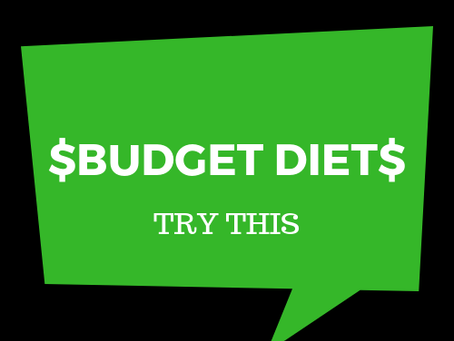 $$$ The BUDGET Diet $$$