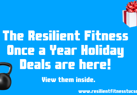 Resilient Fitness Holiday Packages 2020