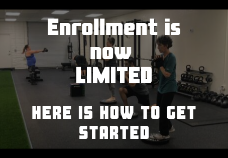 Enrollment is now limited, here is how to get started at Resilient Fitness