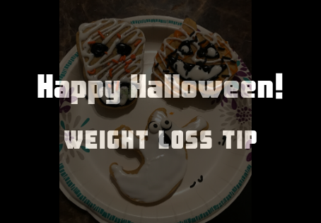Halloween Weight Loss Tip: Eat the cookie....