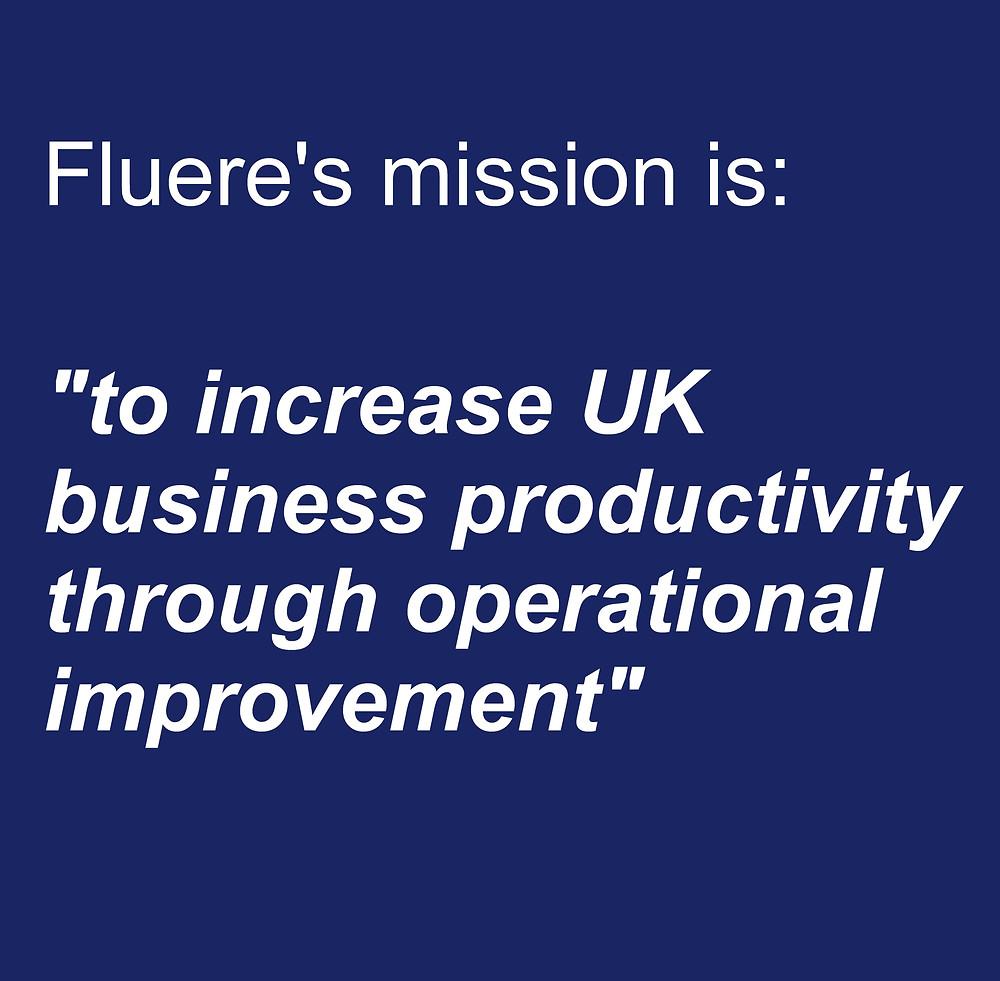 Fluere Mission Statement