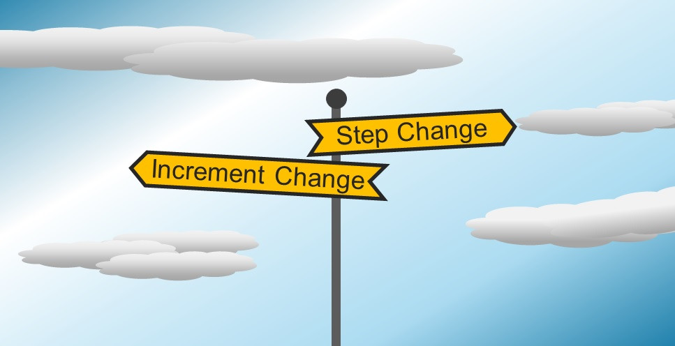 Step and Increment Change Choice