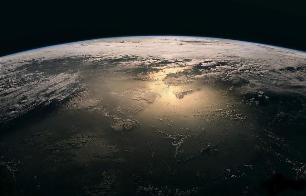 planeta tierra vista aérea