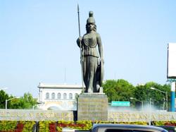 """Imagen de monumento """"La Minerva"""" en Guadalajara"""