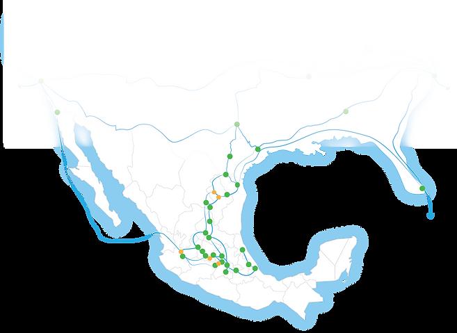 gráfico de cobertura México-Estados Unidos
