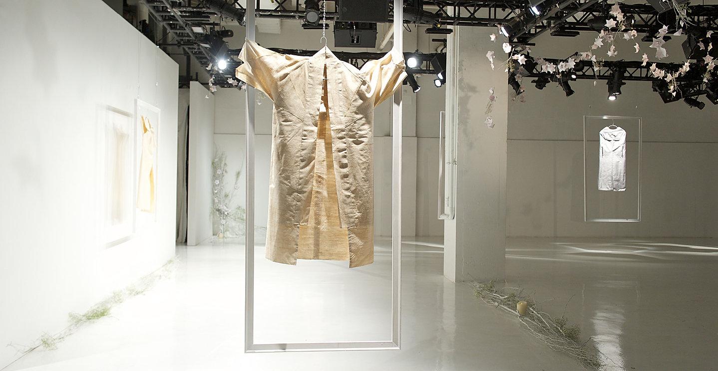 Origami inspired clothing