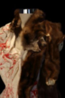 "<img src=""mink shawl.png"" alt="" muslin draped to show mink furs used to create a shawl"">"