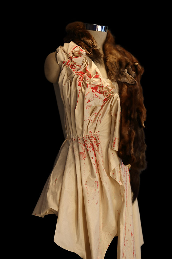 "<img src=""mink cape.png"" alt="" muslin draped to show mink furs used to create a shawl"">"