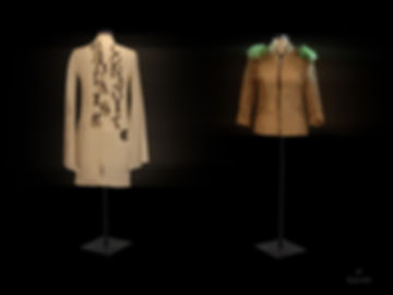 """<img src=""""garments displayed.png"""" alt="""" Garments displayed on mannequins which talk about the environment and sustainability"""">"""