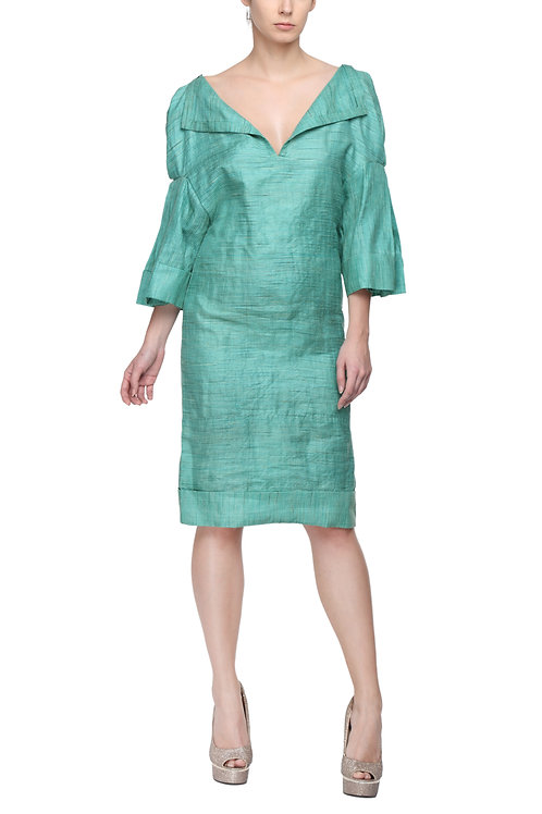 Green Silk Tunic
