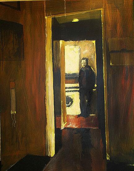 Figure through doorways