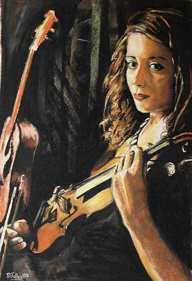 Sat with Violin