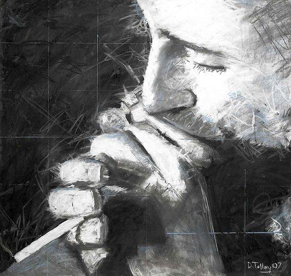 Smokin' blues man