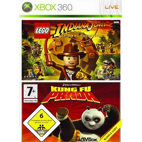 Indiana Jones & Kung Fu Panda Bundle