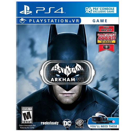 Batman Arkham (PS Virtual Reality)