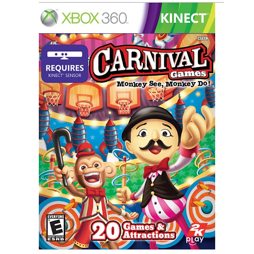 Carnival Games - Monkey See, Monkey Do (Kinect)