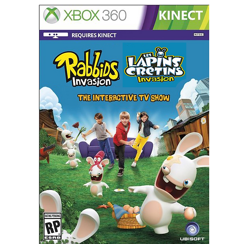 The Lapins Cretins Invasion (Kinect)