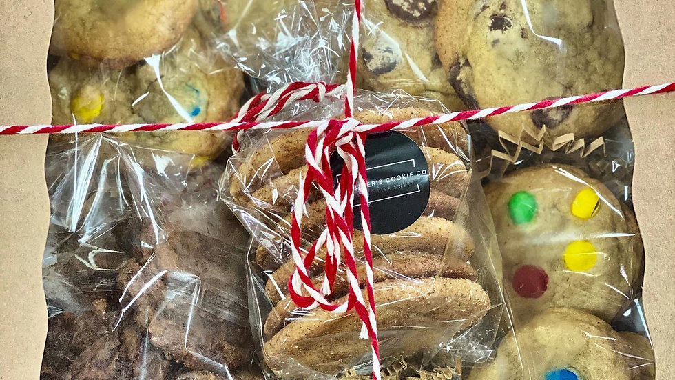 Large Variety of our Classic Cookies
