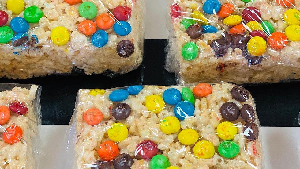 M&M Rice Crispies