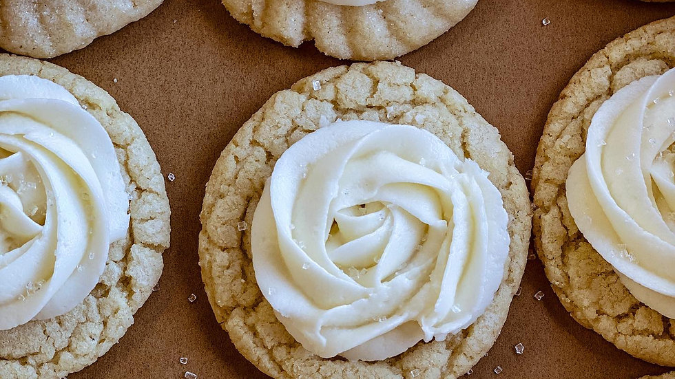 classic sugar or lemon with vanilla cream
