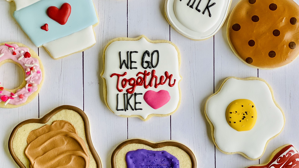 Valentine Cookie Sets