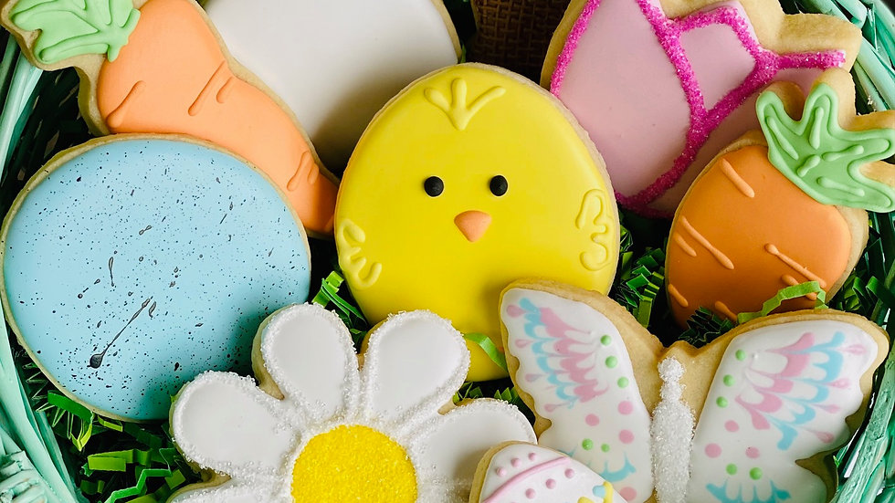 Assorted Easter Cookie by the dozen