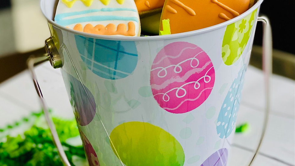 Easter small cookie bucket