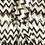 Thumbnail: Chevron Print Front Ruffle Top