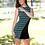 Thumbnail: Asymmetric Colorblock Dress