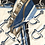 Thumbnail: Horsebit Print Front Ruffle Top