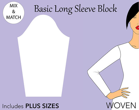 Women's Basic Long Sleeve Pattern