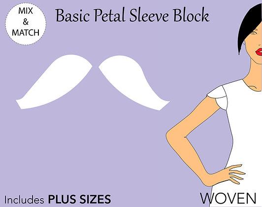 Women's Petal Sleeve Pattern