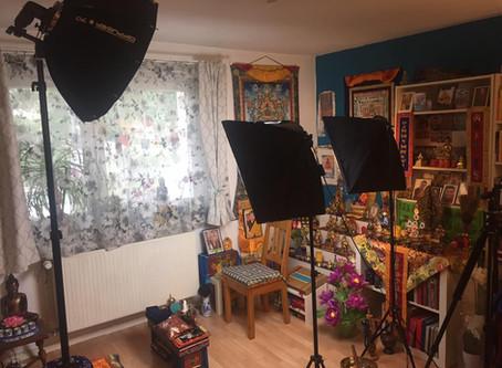 Ein Blick hinter unserem Foto und Video-Shooting