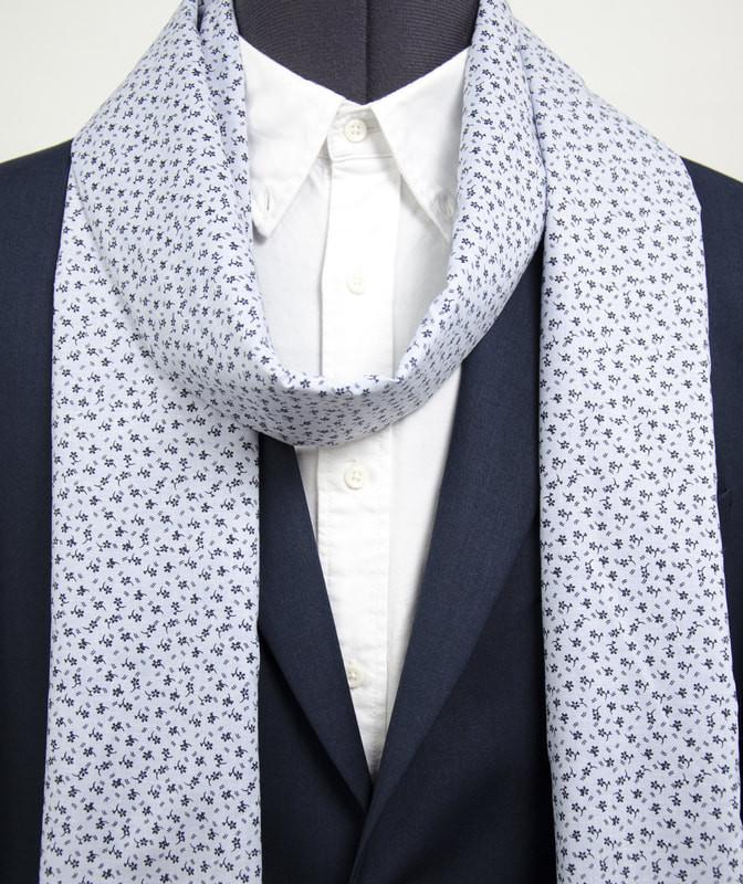Wool Scarf for Gentleman. Made in Berlin