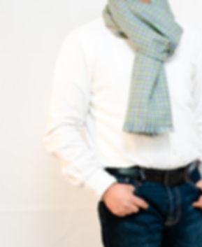 Herren Schal. Wolle Schal. Elegant Schal für Herren.