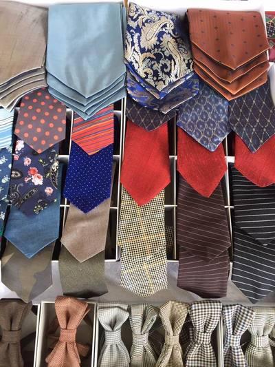 Krawatten. Herren Accessoires. Heng Fashion. Made in Berlin.