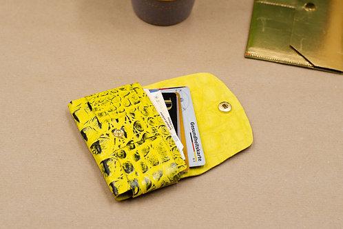 Schlanke Geldbörse. Kleine Leder Brieftasche. Schlanke Brieftasche (Unisex).