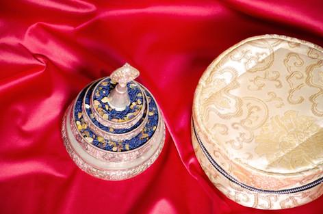 Mandala Scheibe und Tasche